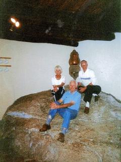 Granite Boulder in the kitchen
