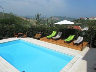 Pool Area with views over the countryside