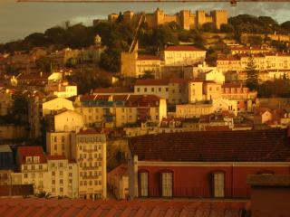 C.Center,terrace,views castle, Lisbon