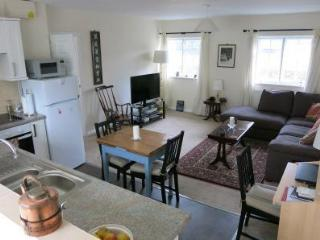 Spacious open plan kitchen, dining & sitting room with 42'' HD TV.  WiFi included