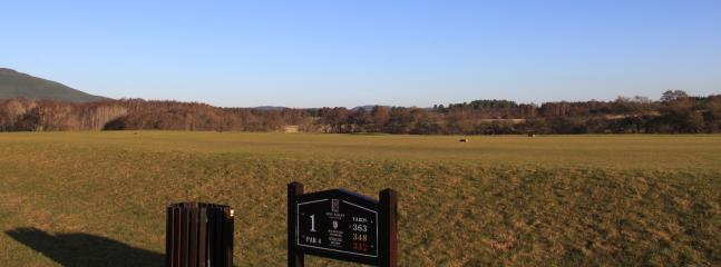 Spey Valley Golf Course - a short walk from Manuka Cottage