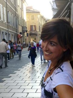 loretta, la proprietaria di Casa Lò