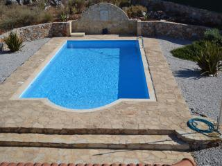 Large private 10 x 5 pool........ enjoys the sun all day long