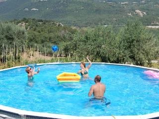 24ft swimming pool at the property is exclusively for your use