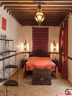 Chambre orange 1er étage