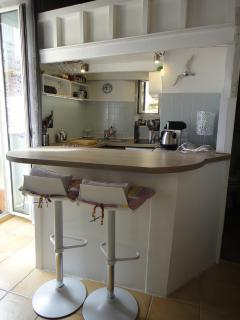 Newly fitted kitchenette