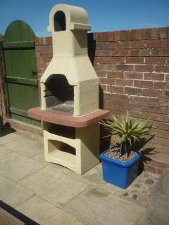 Stone barbeque for al fresco dining