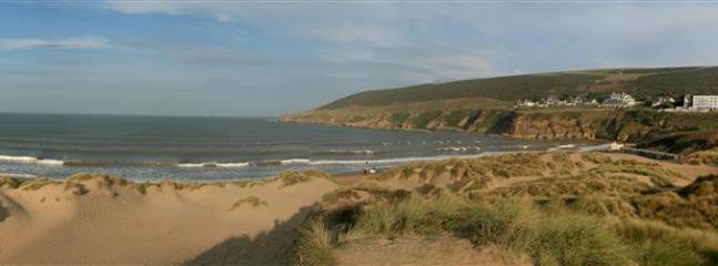 5 minute drive to Saunton beach