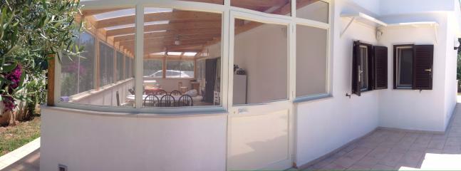 Ingresso veranda da piscina