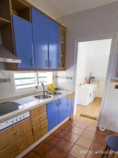 Vista de lavadero desde cocina