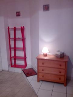 Salon 1, Entrée