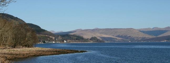 Loch Fyne from the shore below cottage (50 metres)