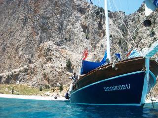 Wooden Gulet boat, Bozburun