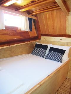 Double bedroom cabin