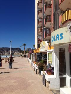Calpe has lots of bars and restaurants on offer