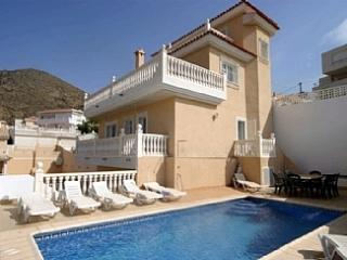 Luxury Bolnuevo Villa with Swimming Pool & Views