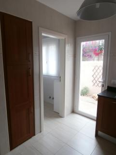 Utility Room off Fitted Kitchen and Back Door