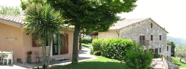 Apartment Il Forno:leaving (two extra beds available, bedroom, bathroom, private garden