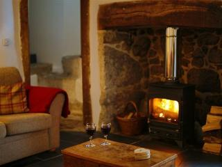 Cosy up in front of the log burner