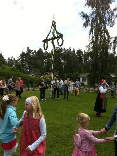 Midsummer celebrations.