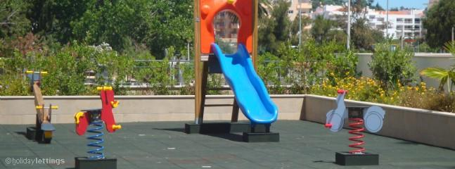 Children's play area in the complex.