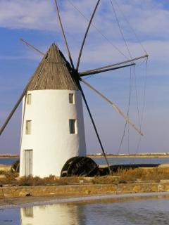 Windmill in Murcia