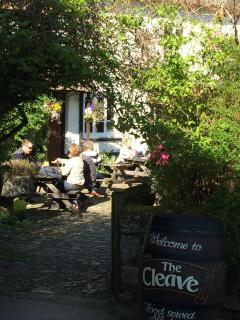 The Cleave pub and bistro - just 100 yards from the cottage