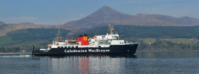 You will arrive in Brodick Bay to begin your holiday - be sure to book your car on the boat!