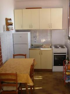 Practical and well equipped kitchen