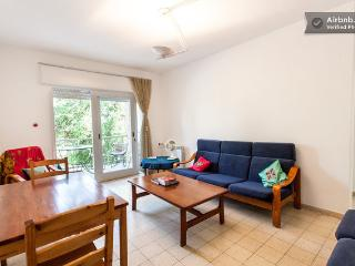 QUIET AIRY APT w/ BALCONY, WALK TO OLD CITY, GERMAN COLONY