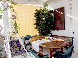 The terrace / La terrazza della colazione