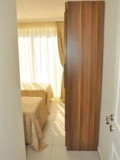 Door leading to twin room.