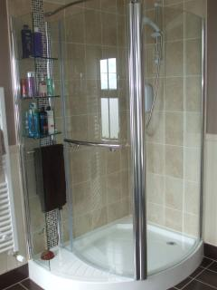 Upstairs Bathroom - Shower