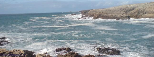 rugged brittany coastline