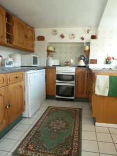 Well appointed and equipped kitchen with everything you might need
