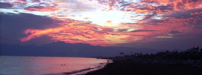 Sunset on Kadriye beach