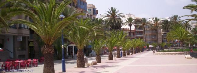 The Promenade at Puerto de Mazarron