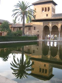 Stunning palace at Alhambra, Granada