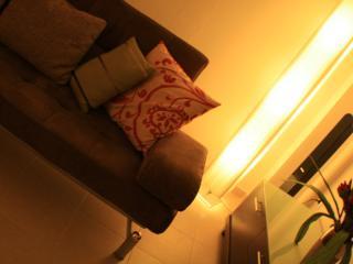 Atmospheric lighting in the living room