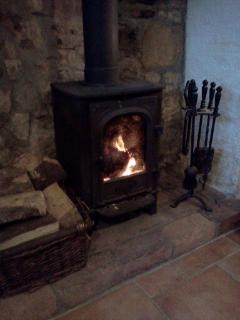 Unlimited logs for the wood burning stove
