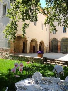 Palazzo Morichelli d;Altemps … garden area