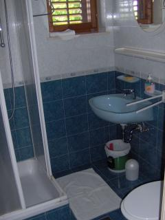 Bathroom shower - parents room