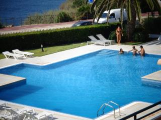 Sun bathe on the terrace (43 square meters) or enjoy a refreshing swim in the condominium's private