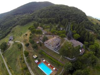 Villa at Umbria/Tuscany border, Preggio