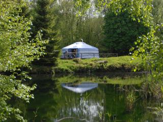Lake Yurt at Dartmoor Yurt Holidays