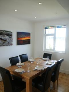 Dining Room with views to the river