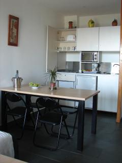 Our comfortable, fully-equipped kitchen