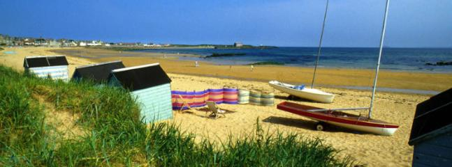 Summer time on Elie beach