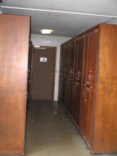 Le couloir qui abritera vos chaussures et vos skis au 1 étage