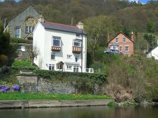 Penlan Cottage from the River Dee